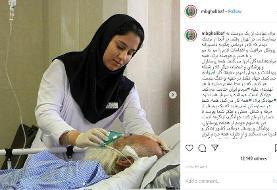 تصویر قالیباف از یک بیمار کرونایی و پرستار بیمارستان | جهاد فقط در جبهه ...