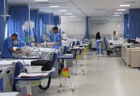 بیمارستانهای فرقانی و کامکار قم در حال پر شدن