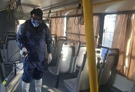 اتوبوسهای پایتخت شبانه روزی ضد عفونی می شوند
