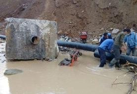 با وقوع سیلاب برق ۱۰۰ روستا در کهگیلویه و بویراحمدقطع شد/قطع آب ۲۳ روستا در لرستان
