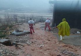 امدادرسانی به ۷۴ حادثهدیده سیل در ایلام