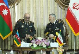 دیدار معاون وزیر دفاع جمهوری آذربایجان با امیر دریادار خانزادی