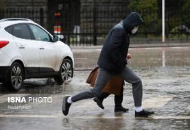 رعد و برق و بارش باران در اغلب مناطق کشور