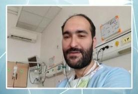 ببینید | مصاحبه علی رضوانی با بیمار کرونایی در قرنطینه که با دست نشسته پیتزا خورده بود!