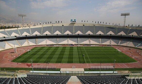 ورزشگاه آزادی ضد عفونی شد +عکس