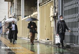 کاهش ۶۰ درصدی بارش های تهران نسبت به بلند مدت/پربارشی در ارتفاعات