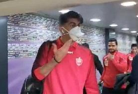 ببینید |  بیرانوند: این همان ماسکی است که زدم و کلی من را مسخره کردند!