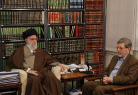 (تصاویر) دیدار رئیس فرهنگستان علوم پزشکی با رهبر انقلاب
