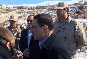 بازدید رئیس کل دادگستری استان آذربایجان غربی از مناطق زلزلهزده قطور و زرآباد