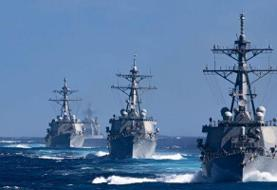 The US Navy orders ships in the Pacific to stay at sea at least 14 days between port calls over ...