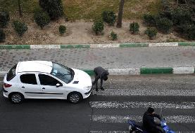 (تصاویر) مخدودش کردن پلاک خودرو