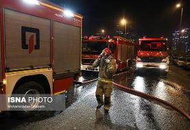 افزایش شمار فوتیهای آتش سوزی مجتمع مسکونی در قم به ۵ نفر