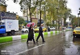 شروع بارشها از شنبه