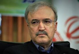 نامه وزیر بهداشت به لاریجانی مبنی بر تعطیلی جلسات مجلس