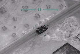 (تصاویر) حملات گسترده ترکیه به مواضع ارتش سوریه