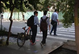 دوچرخه جایگزین سرویس مدرسه
