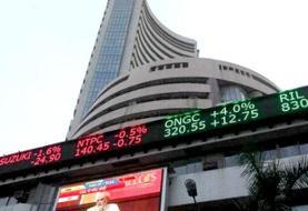 سهام هندوستان با نگرانی از شیوع کرونا ۱۳۰۰ واحد سقوط کرد