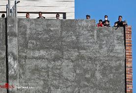 فرار هواداران گلگهر از ویروس کرونا + عکس