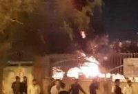 آتش&#۸۲۰۴; زدن یک درمانگاه در بندرعباس به&#۸۲۰۴; خاطر کرونا