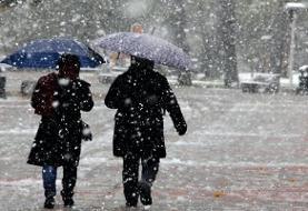 ورود سامانه بارشی جدید | دو سوم کشور دوباره درگیر برف و باران میشود
