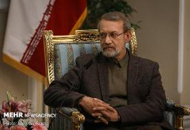 آرزوی بهبودی فرماندهان نظامی کشور برای علی لاریجانی