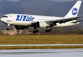 فیلم/ تصاویری از هواپیمای مسافربری سانحه دیده با ۹۴ سرنشین