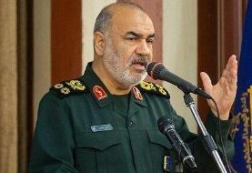 فرمانده سپاه: دشمنان روزی آتش اصلی ایران را در دریا و آسمان خواهند دید ...