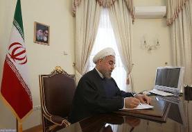 روحانی درگذشت والده همسر سیدحسن نصرالله را تسلیت گفت