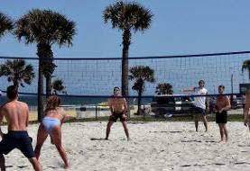 A group of Florida college students traveling together on spring break have tested positive for ...