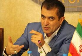 رخت عزا بر تن رییس باشگاه استقلال
