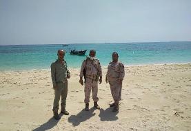 ورود شکارچیان غیرمجاز به جزیره خارکو صحت ندارد