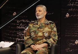 سرلشکر موسوی برای رئیس مجلس آرزوی بهبودی کرد