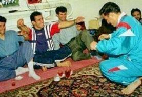 رقص در اردوی استقلال با حرکات ریتمیک علی چینی!/عکس