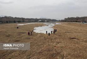 بارشها در ۹ استان کشور کمتر از حد نرمال /کم بارشی مشهود در زایندهرود
