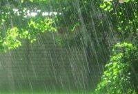 بارش باران در جاده&#۸۲۰۴;های ۵ استان