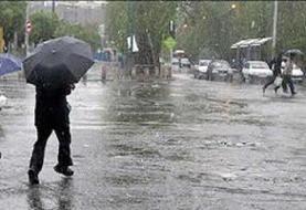 پیشبینی بارش باران و برف در خوزستان