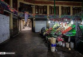بلایی که کرونا سر خیابانهای شلوغ تهران آورد