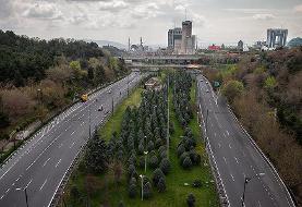 (تصاویر) خیابانهای خلوت تهران