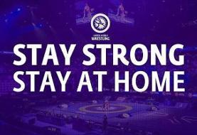 اتحادیه جهانی کشتی: در خانه بمانید