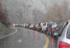 باراش باران در اغلب جاده های کشور