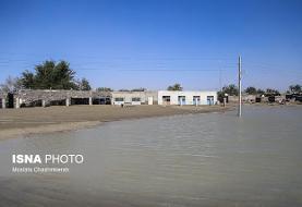 جان باختن چهار تن در سیلاب طی ٢۴ ساعت گذشته