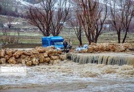 مرگ پدر و ۲ فرزند در سیل استان فارس