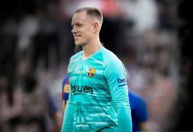 دروازهبان بارسلونا: به فوتبال علاقه ندارم و نام بازیکنان حریف را نمی دانم