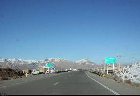 برف بهاری، شیرکوه در استان یزد را سفیدپوش کرد