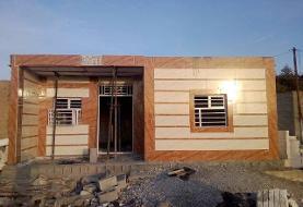 احداث برخی خانههای آسیبدیده از سیل به مرحله سقف رسید