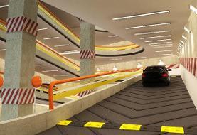 بازدید از پروژه احداث پارکینگ طبقاتی نیایش