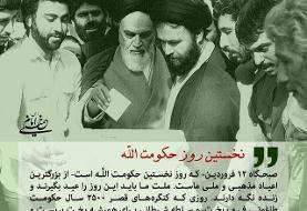 ۱۲ فروردین؛ روز نخستِ حکومت الله در ایران