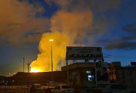 انفجار خط لوله گاز صادراتی ایران به ترکیه در نزدیکی مرز بازرگان