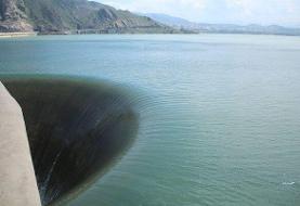 سد سفید رود سر ریز شد/ ذخیره سازی ۱.۶۵ میلیارد مترمکعبی آب