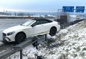 دوست نزدیک اشکان دژاگه در آلمان تصادف کرد/عکس